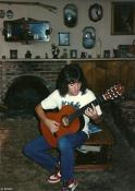 Me at 15.Studying classical hard. In the hopes of hitting highs,only known to Randy